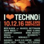 I Love Techno Europe desvela su cartel