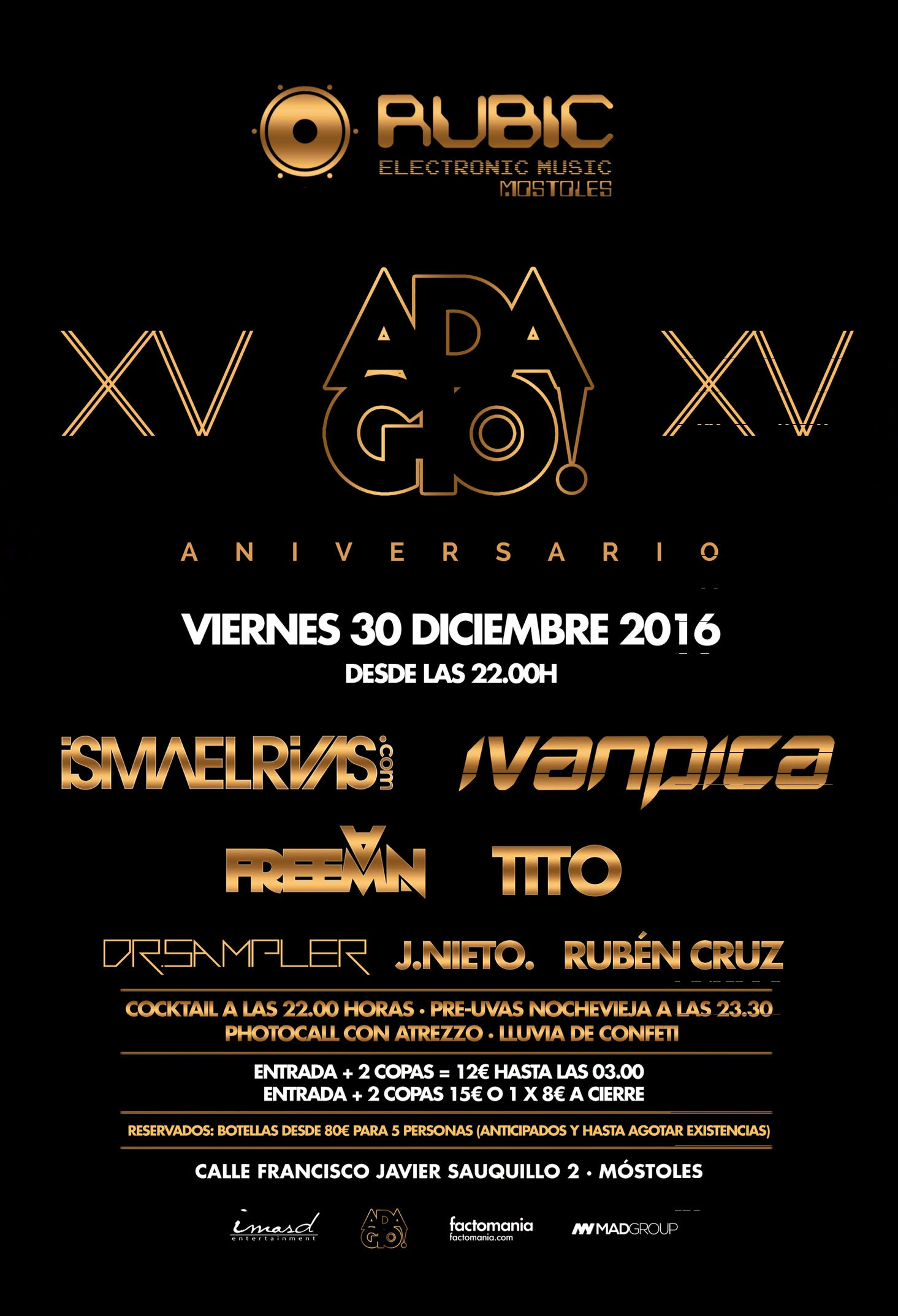 Adagio Madrid 15 Aniversario_nrfmagazine