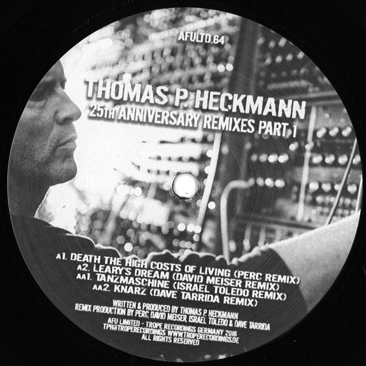 Thomas P. Heckmann - Leary's Dream (David Meiser Remix)_nrfmagazine