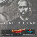 Chris Liebing se suma al cartel de Weekend Beach Festival 2017
