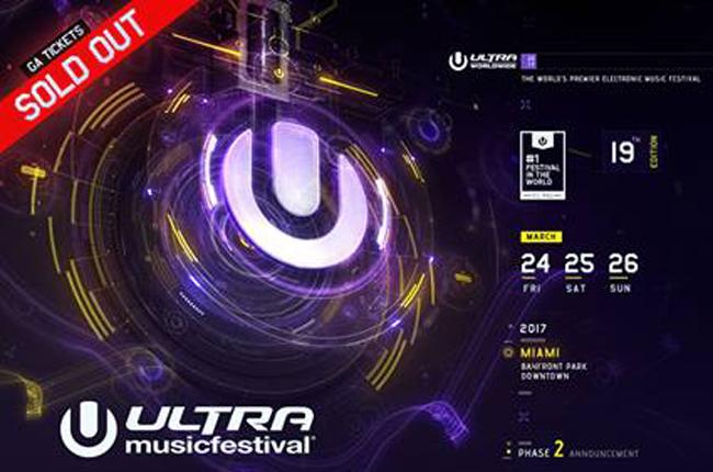 Ultra Music Festival Phase 2 lineup 2017_NRFmagazine