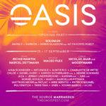 Nuevas confirmaciones para Oasis Festival 2017