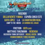 Weekend Beach Festival continua ampliando su cartel