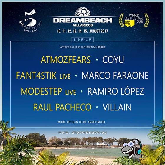 Dreambeach Villaricos 2017 cartel_NRFmagazine