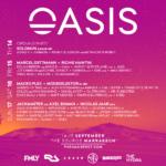 Oasis Festival revela el cartel completo para esta edición