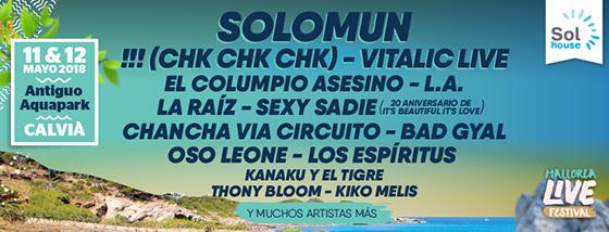 Mallorca Live Festival 2018 primer avance_NRFmagazine